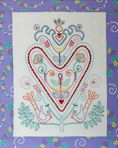 Vintage Broderi - pattern