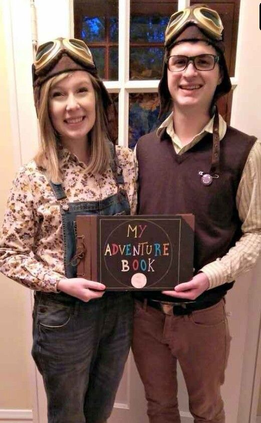 601 best halloween costume ideas images on pinterest carnivals young carl and ellie from up couples costumes solutioingenieria Images