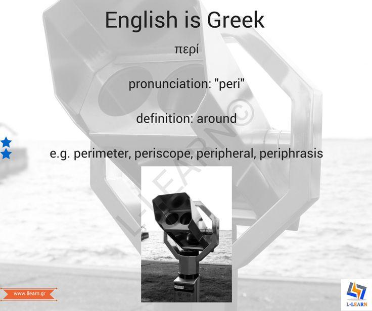 Περί.   #English #Greek #language #Αγγλικά #Ελληνικά #γλώσσα #LLEARN