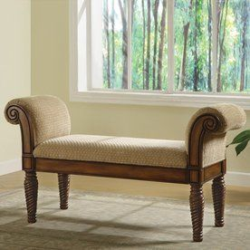 Coaster Fine Furniture Stately Brown Indoor Accent Bench 100224