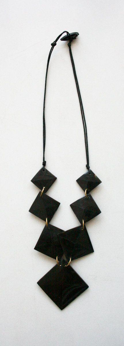 Stunning Handmade Necklace. $28.00, via Etsy.