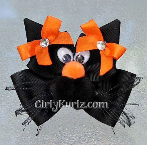20 + Unique & Scary Halloween Hair Bows 2014 For Kids & Babies | Hair Accessories | Girlshue