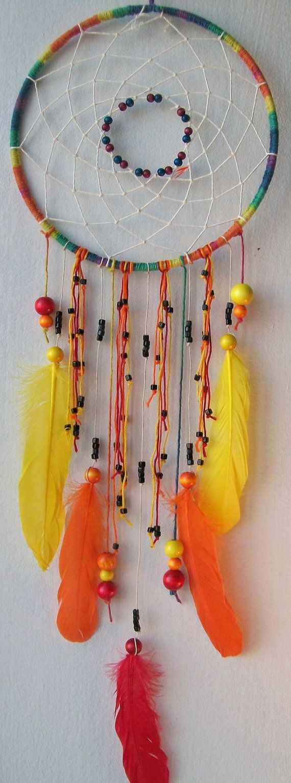 Sight Of Day Native Dream Catcher $4000 Feelfreeart(no Spaces) On Etsy