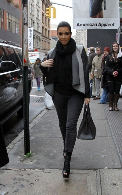 Kim Kardashian\u0027s Winter Fashion