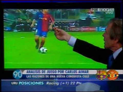 Análisis Táctico: Barcelona 2 - Manchester 0 (Champions League 2008-2009)