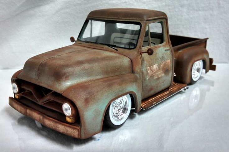 Weathered 56 Ford built by Shane