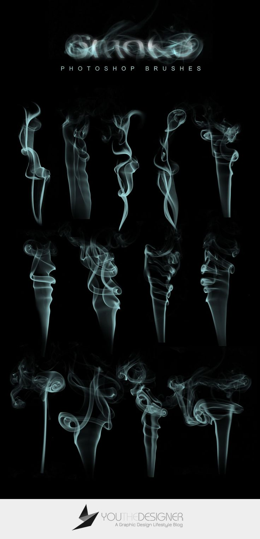 13 Free Photoshop Smoke Brushes