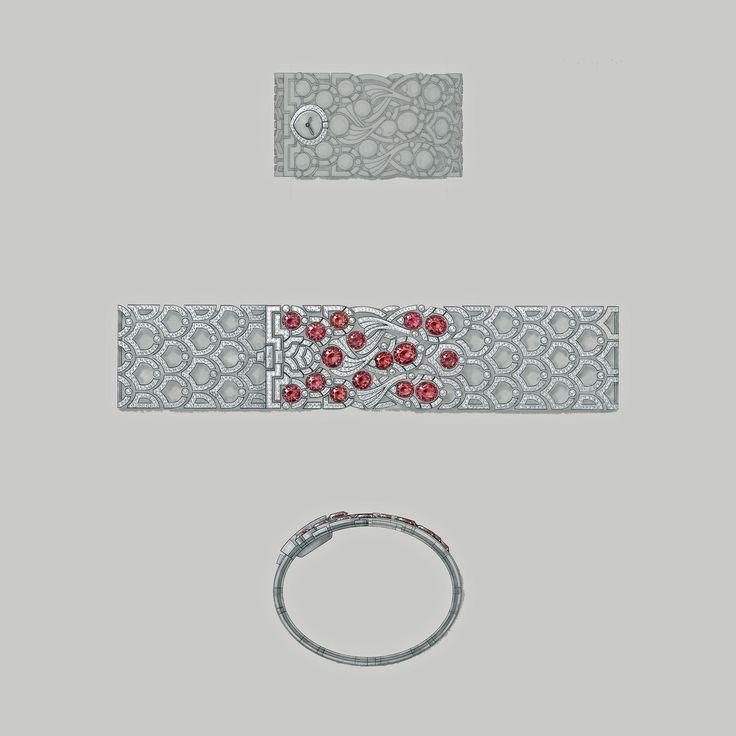 The high jewellery @cartier Koinobori watch #cartier #ladieswatch #luxury #jewellerywatch