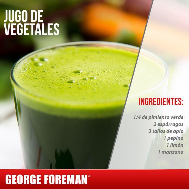 Si tienes problemas de colesterol alto, te compartimos esta receta. Prepara este jugo y reduce tus niveles. #salud #mujer #georgeforemanmx #jugo #verde
