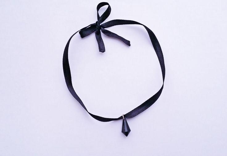 DIY Ribbon Choker