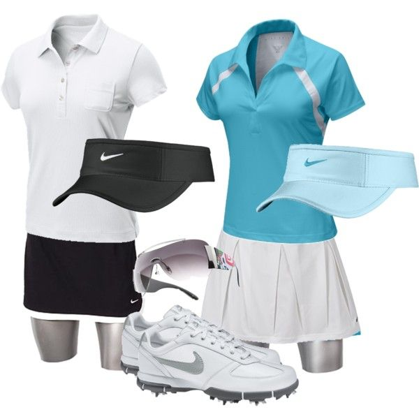 Cute Golf gear, created by preppedandready on Polyvore