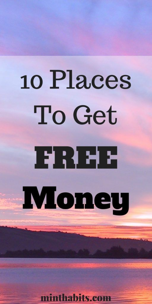 Need a free handout? Here is a list of places that will give you free money. Click here to see it.