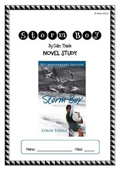 Storm Boy ~ Colin Thiele ~ Higher Order Thinking NOVEL STUDY $5.50 - 14 pages
