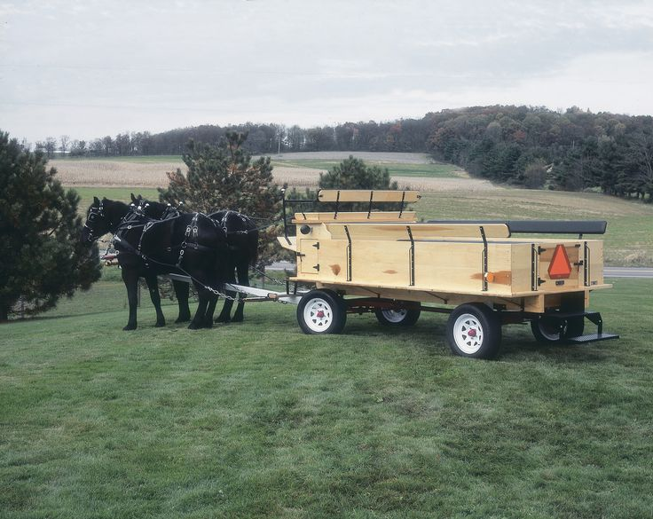 Tractor Pulled Wagon : Pioneer wagon gears amish made all sizes horse or