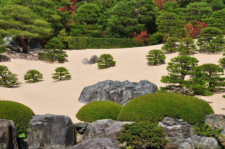 article sur le musée jardin Adachi à Yagusi, Matsue au Japon