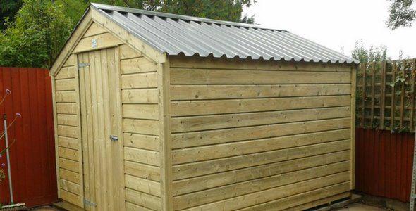 mcd hand made garden sheds dublin ireland