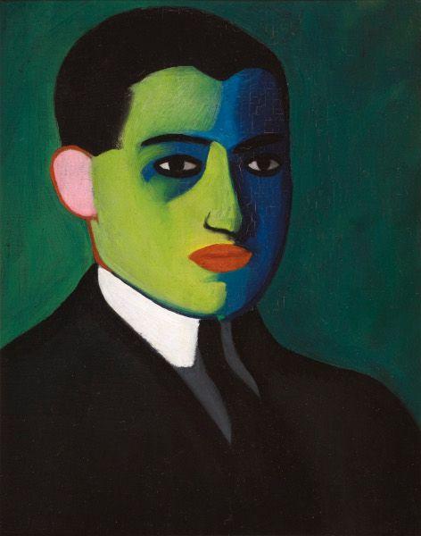 Paul Citroen, Portrait of Heinz Aron, 1922