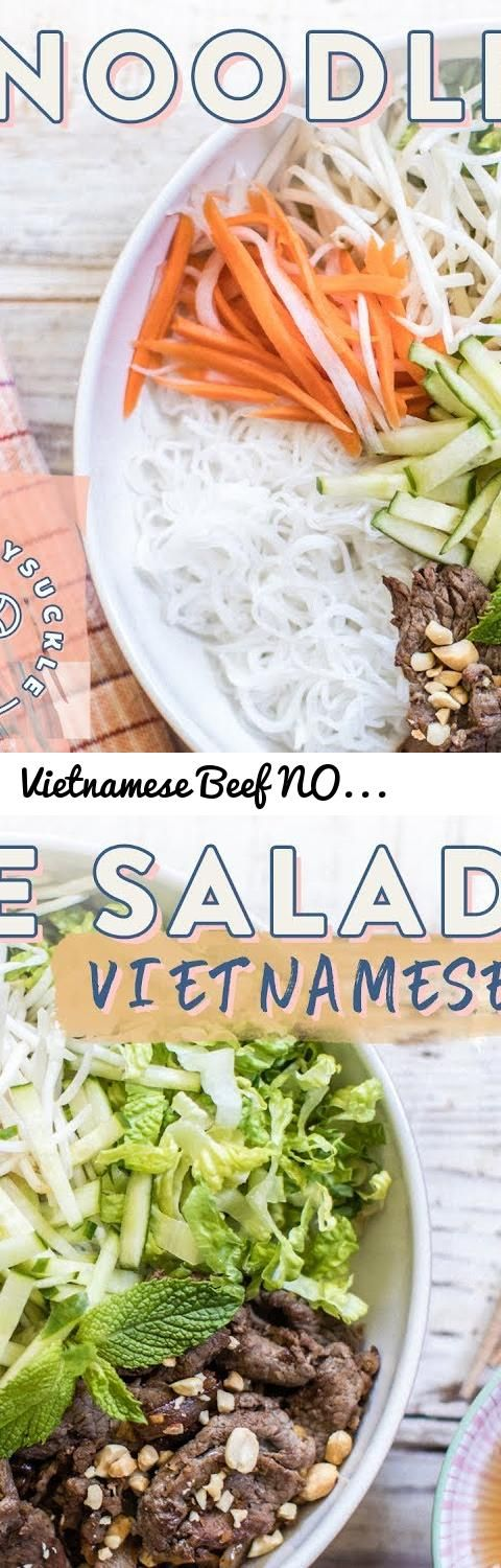 Vietnamese Beef NOODLE SALAD (Bun Bo Xao)... Tags: vietnamese noodle salad, beef noodle salad, noodle salad, bun bo xao, nuoc mam cham, Viet food, vietnamese food, asian cooking, asian food, home made, vietnam, day nau an, hoc nau an, vietnamese recipe, Vietnamese cuisine, bun bo nam bo, Vietnamese Food (Cuisine), vietnamese noodles, honeysuckle, honeysuckle