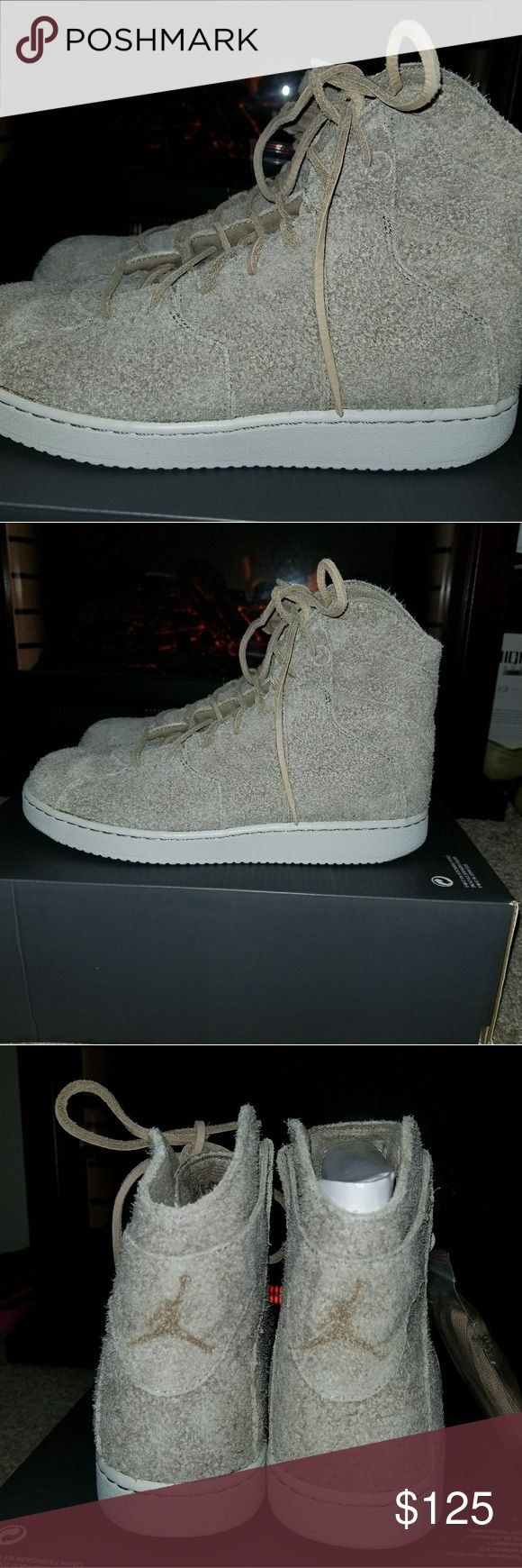 Jordan Westbrook 0.2 Men's Shoes Khaki White New Jordan Westbrook 0.2 Men's Shoes Khaki White 854563-209New- this item was selling brand new what the box was damaged in shipment you would get a half a box in the mail with no top Air Jordan Shoes Athletic Shoes