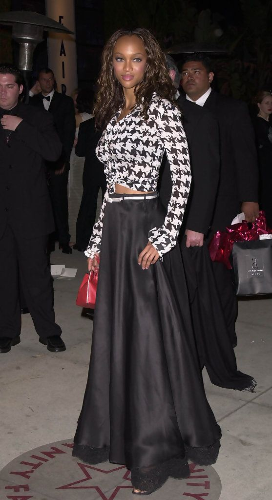Polished beauty Tyra Banks ...Fashionable Hairstyles ... She is an American actress, television producer, author, television personality and former model.
