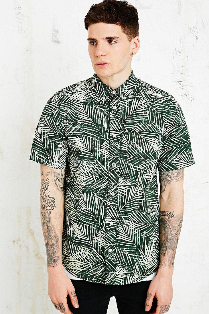 Harry bertoia for knoll inc bird chair catawiki - Carhartt Cayman Shirt In Green Urban Outfitters