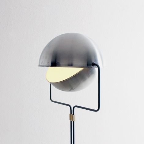 Raak Eclipse floor light designed in 1963 by dutch architect Evert Jelle Jelles
