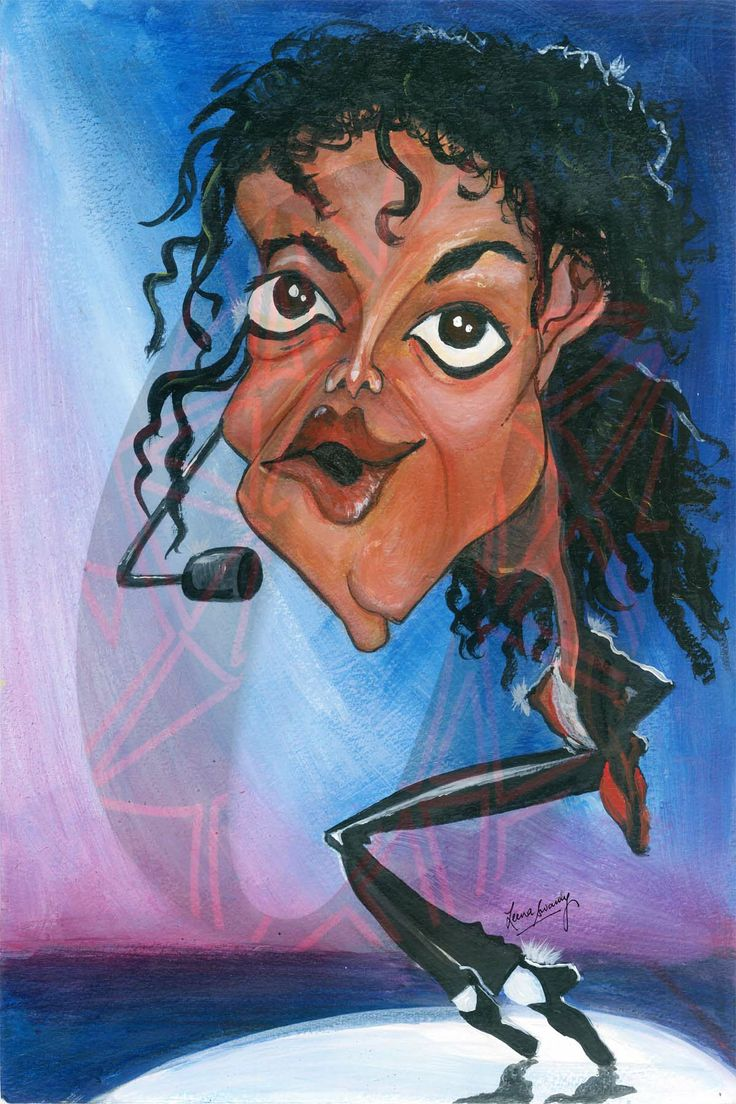 1000 images about michael jackson caricature collection