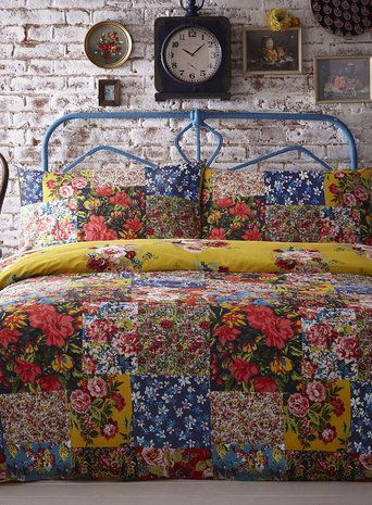 Love this Columbia Patch vintage bedding set. Only available at BHS