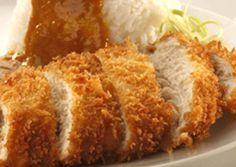 CHICKEN KATSU Bahan: 4 pt besar daging dada ayam (dari 2 potong dada ayam yang dibagi 2) 2 btr telur ayam 2 sm susu evaporated (jika...