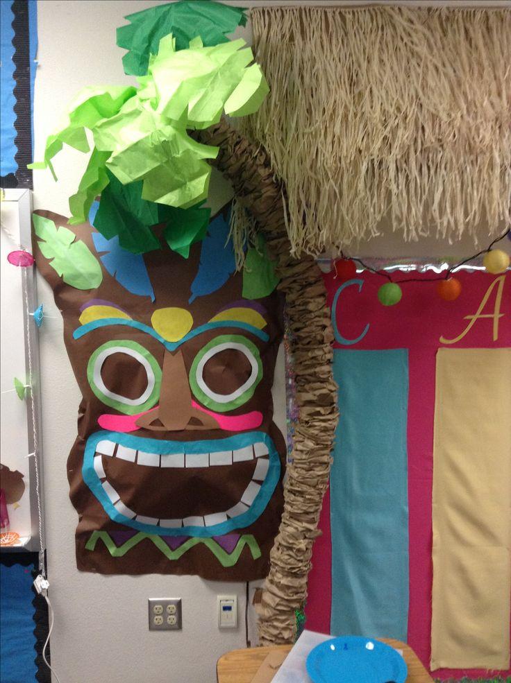 Tiki Decoration For My Beach Themed Classroom Beach