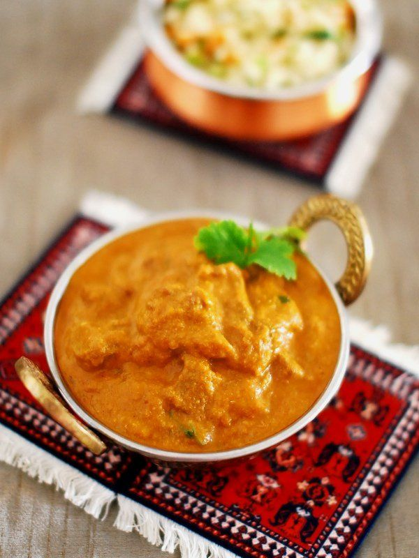 A spicy beef curry prepared in Kerala style with a thick and rich gravy