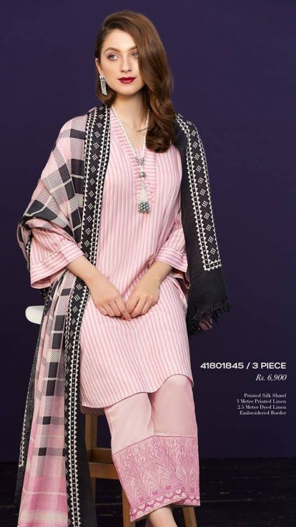 252c1b5376 Nishat Linen Winter Collection 2019 Volume 2 (For All of You ...