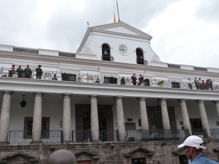 Carondelet Palace, seat of the government of #Ecuador, #Quito.