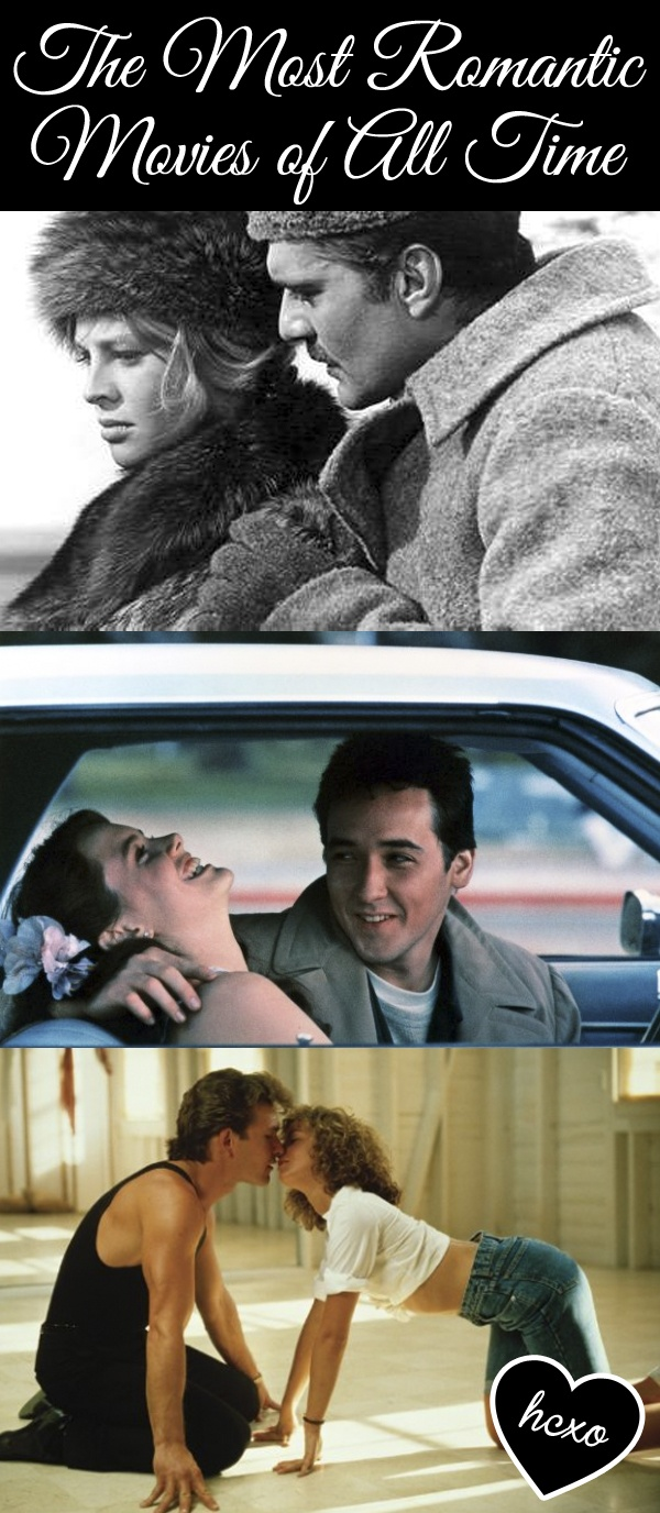 32 Most Romantic Movies of All Time (don't quite agree with some or the order)