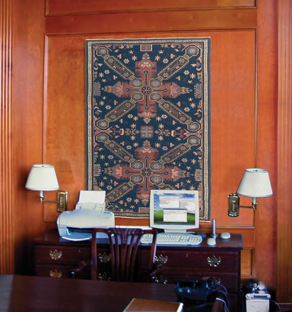 Our Antique Art Rugs Are Simply Dazzling When Displayed On The Wall As
