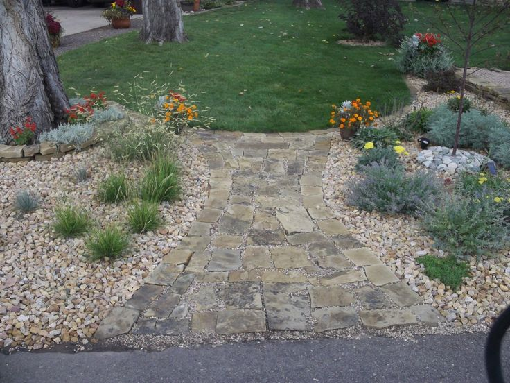front yard rock garden in colorado a clever idea gardening landscaping garden pinterest. Black Bedroom Furniture Sets. Home Design Ideas