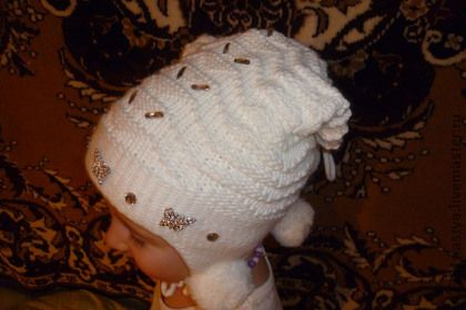Одежда для девочек, ручной работы. Ярмарка Мастеров - ручная работа Шапочка для девочки. Handmade.