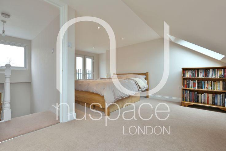l-shaped dormer loft conversion in islington. #nuspacelondon #loftconversion