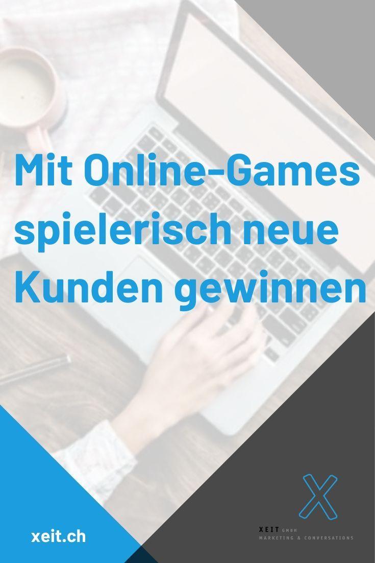 Mit Online Games Spielerisch Neue Kunden Gewinnen Marketing Radiowerbung Online Marketing Strategie