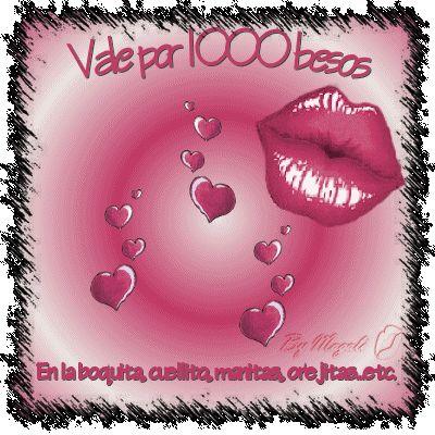 ¿Qué es un beso?, ¿qué significa?, ¿cuándo se da?..., hay una canción que dice que la mujer española un beso de amor no se lo da a cualquie...