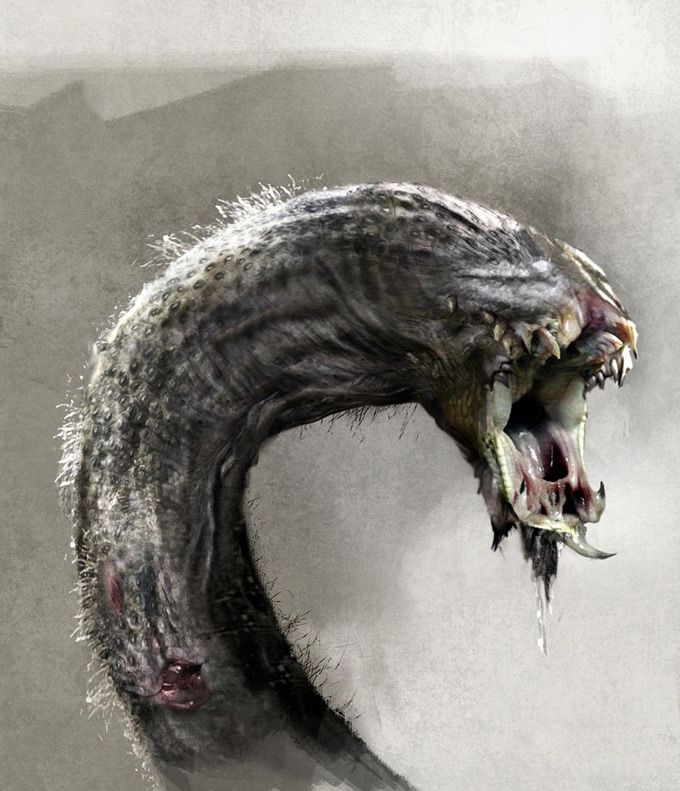 Concept Art World » Wrath of the Titans Concept Art by ...
