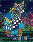 CAT FOLK ART