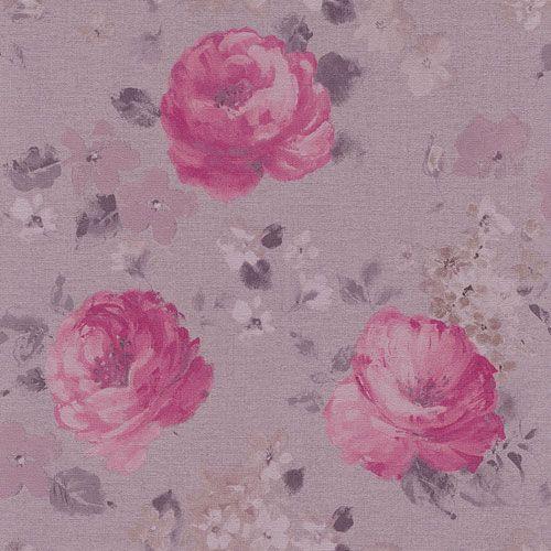 Klassiska engelska rosor från kollektionen Havanna 448849. Klicka för att se fler inspirerande tapeter för ditt hem!