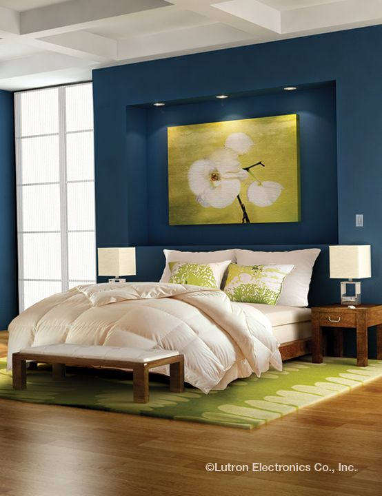 Create Your Own Personal Get Away By Adding Lutron To Your Bedroom. Bedroom  Lighting ...