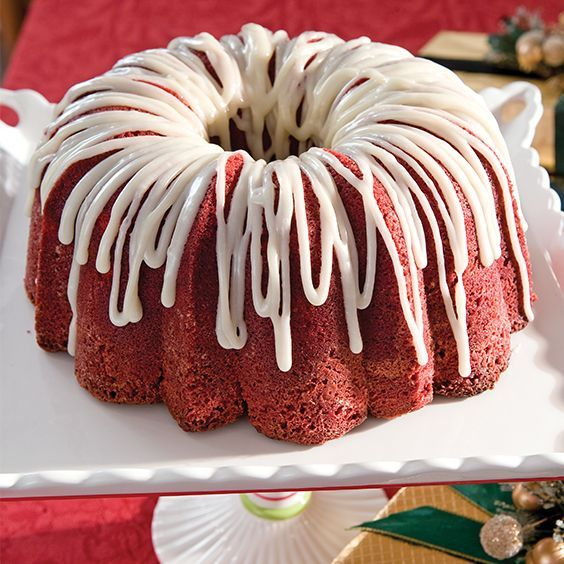 If you enjoy red velvet every which way, this cream cheese-swirled pound cake is a must-try dessert.