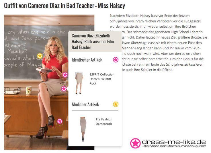 Cameron Diaz (Elizabeth Halsey) Rock aus dem Film Bad Teacher