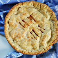 Tarte de maçã americana [apple pie]