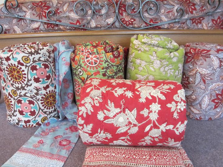 Anokhi Hand Block Printed Quilts - I'd have a very hard time picking just one