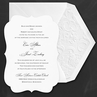 114 best Wedding Invitations images on Pinterest Invitation