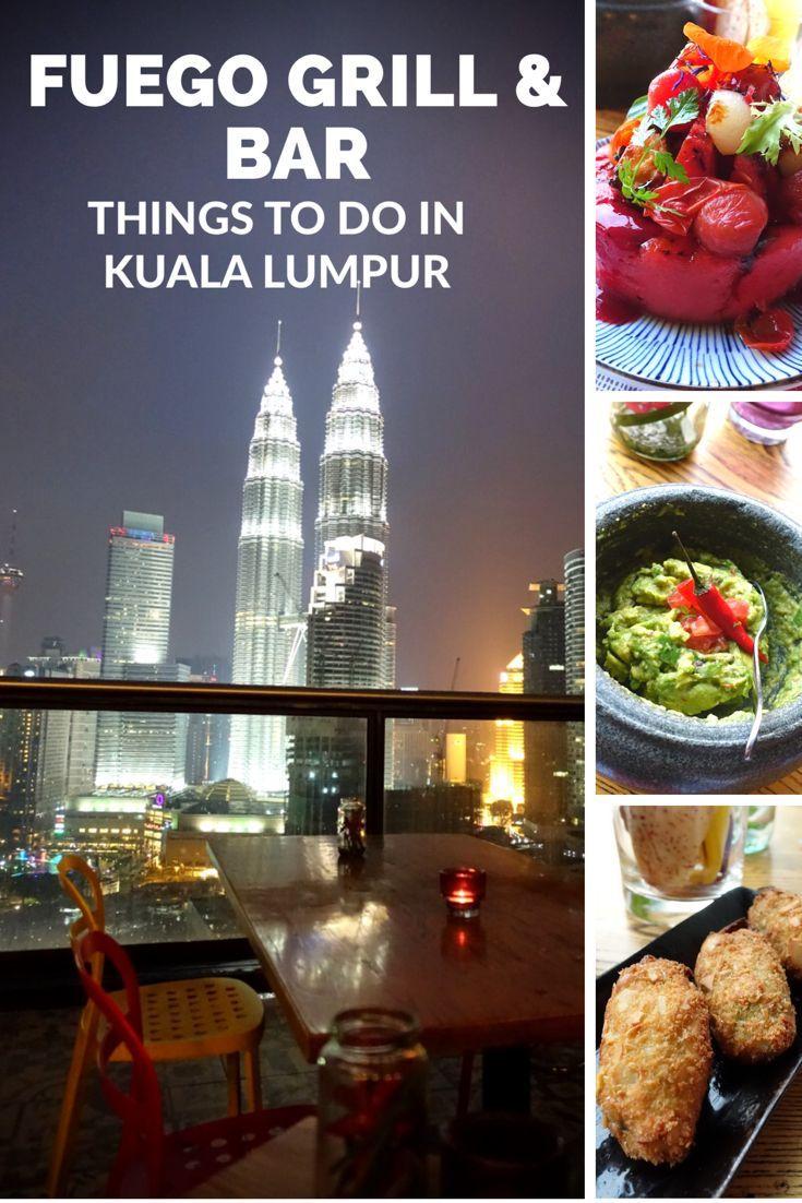 Things to do in Kuala Lumpur / Best Food in Kuala Lumpur - Fuego Grill & Bar @ Troika Sky Dining